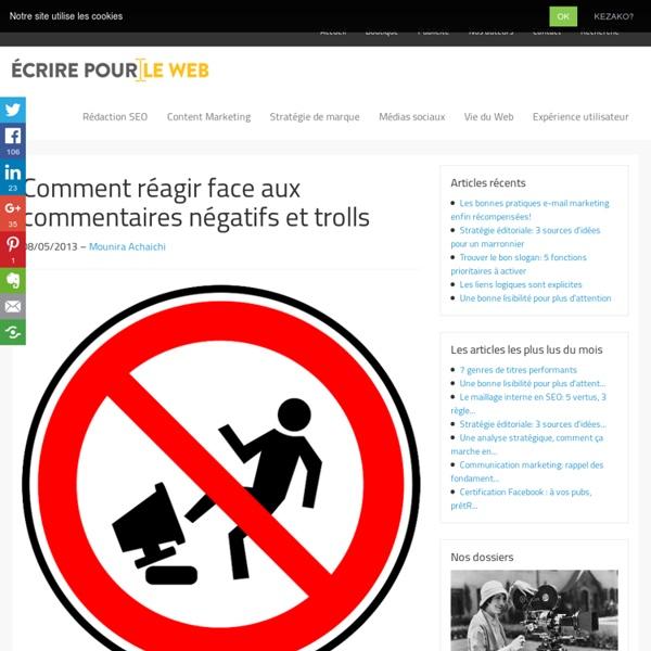 Comment réagir face aux commentaires négatifs et trolls