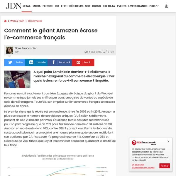 Comment le géant Amazon écrase l'e-commerce français