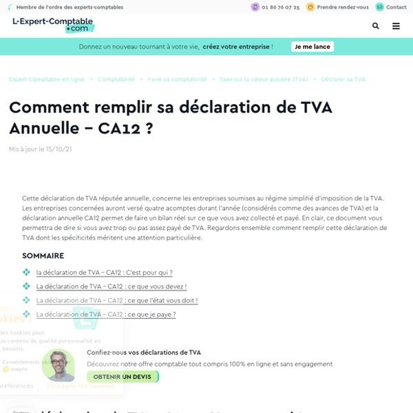 Compta Comment Remplir Sa Declaration Groupe Sister