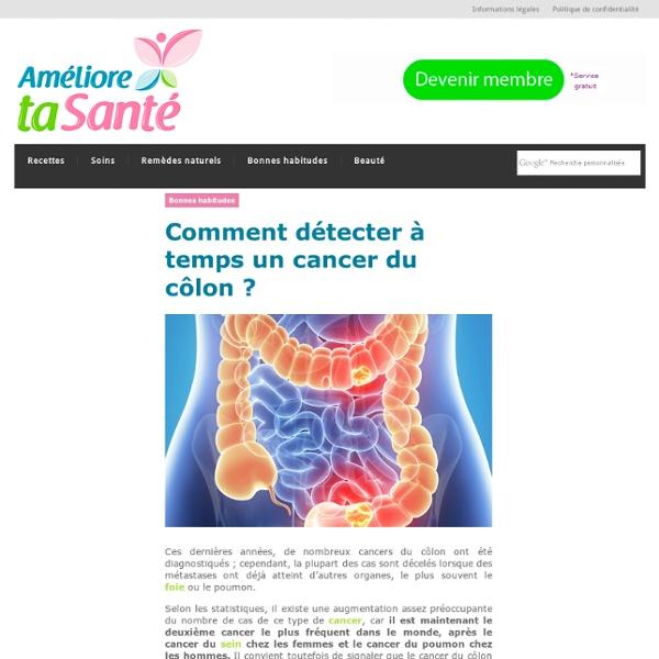 Comment détecter à temps un cancer du côlon