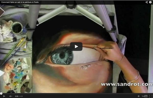 Comment Faire Un Oeil  La Peinture  LHuile  Pearltrees