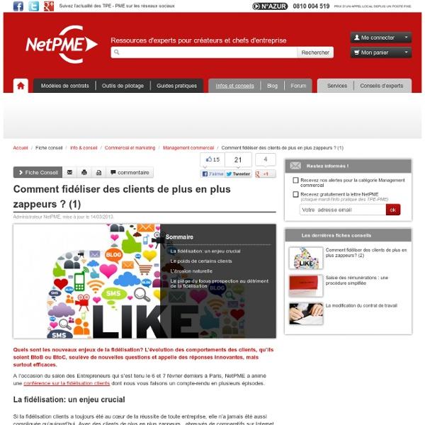 Comment fidéliser un client ? (1) NetPME