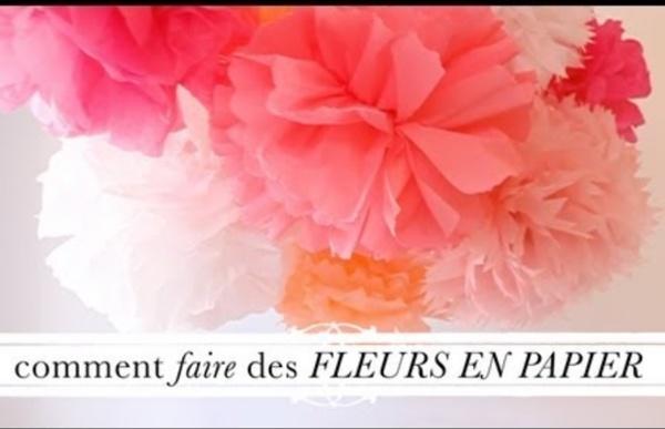 Tuto d co comment faire des fleurs en papier pearltrees - Comment faire des fleurs ...