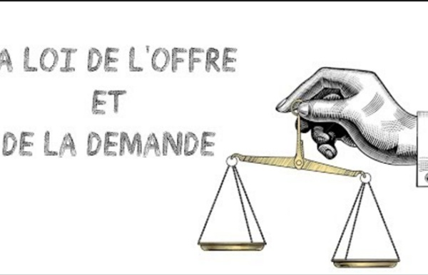 Comment marche la loi de l'offre et de la demande ?