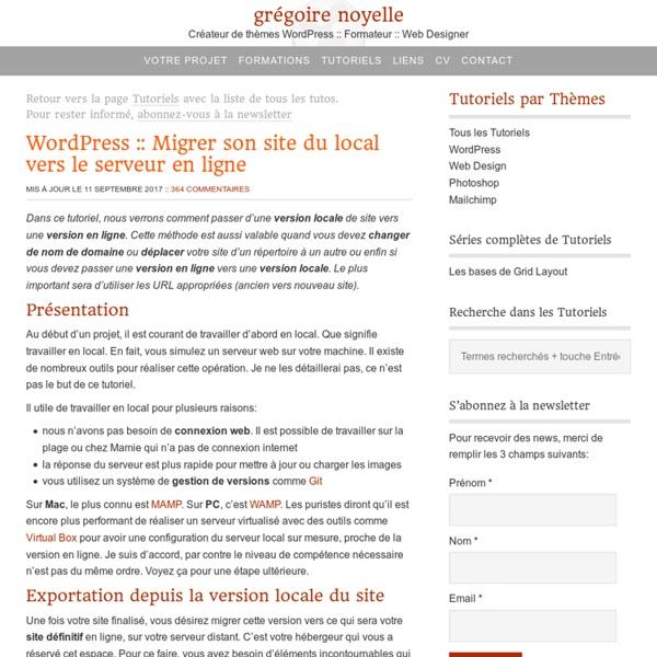Comment migrer son site WordPress pas à pas