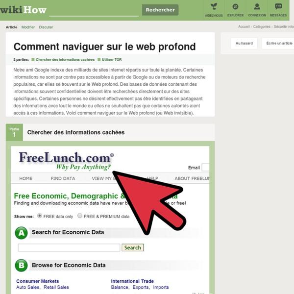 Comment naviguer sur le web profond: 11 étapes