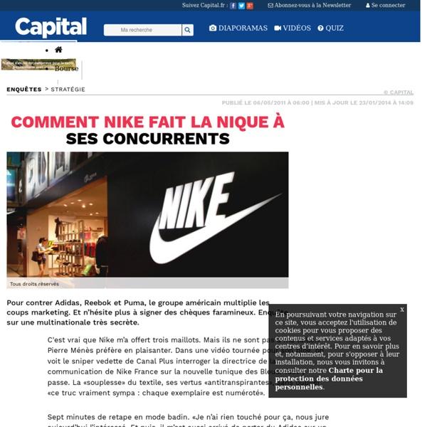 Comment Nike fait la nique à ses concurrents
