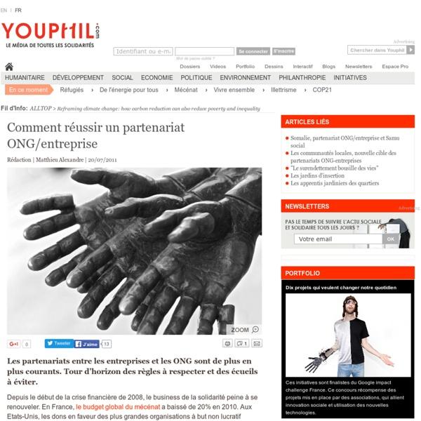 Comment réussir un partenariat ONG/entreprise