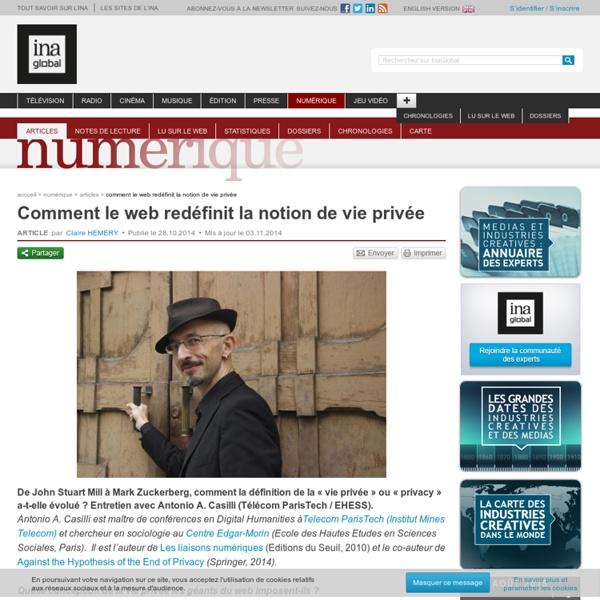 Comment le web redéfinit la notion de vie privée
