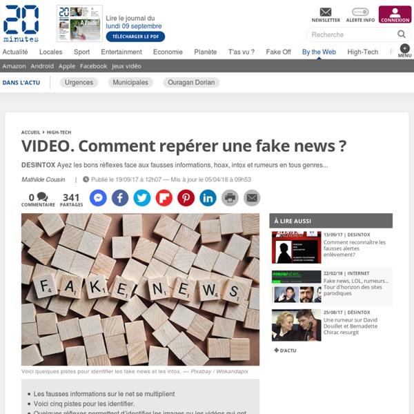 Comment repérer une fake news ?