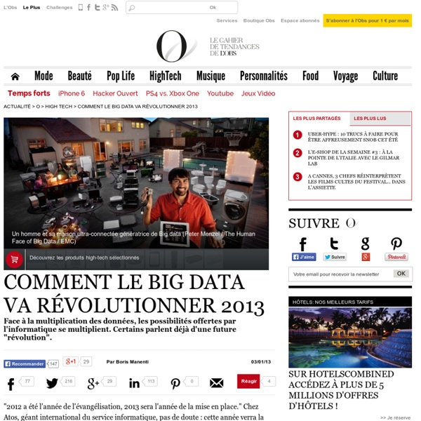Comment le Big Data va révolutionner 2013