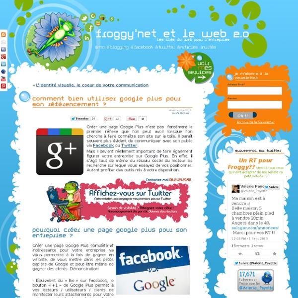 Comment bien utiliser Google + pour son référencement ?