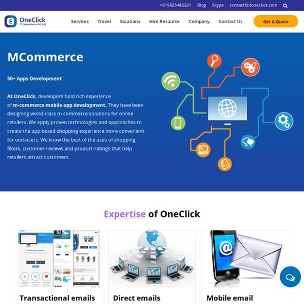 M-commerce app development company