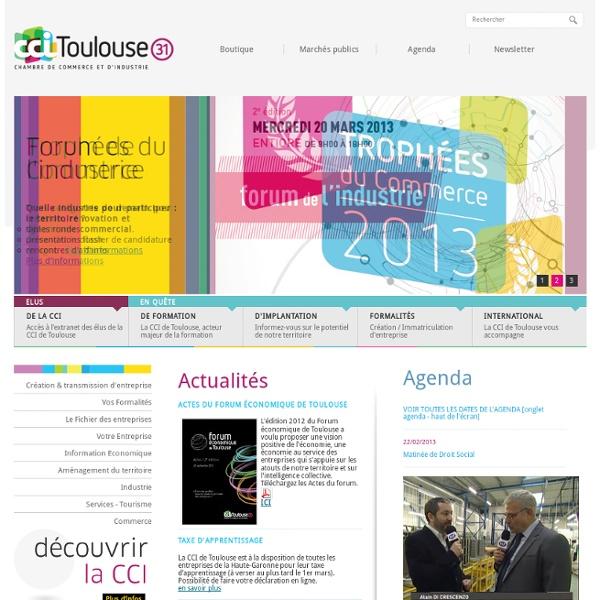 CCI de Toulouse - Chambre de commerce et d'industrie