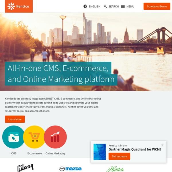 ASP.NET CMS .NET open content management system portal C# free -