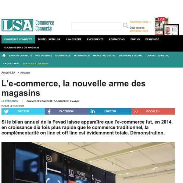 L'e-commerce, la nouvelle arme des magasins