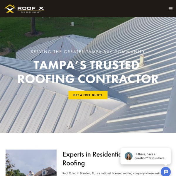 Reroof Contractors Tampa FL