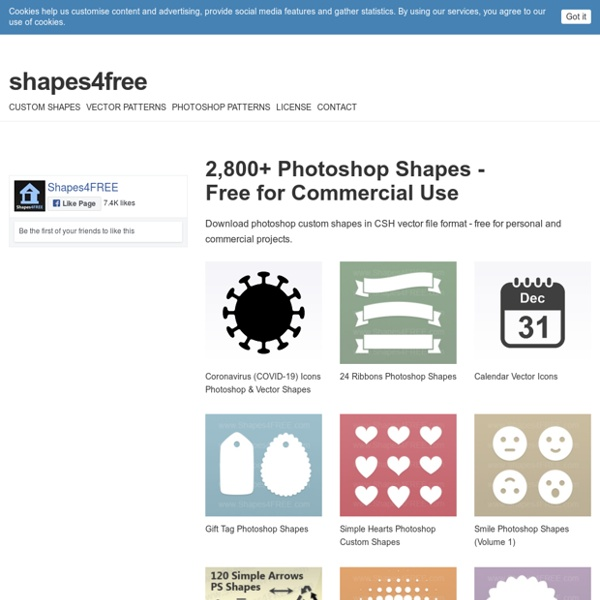 Free Photoshop Shapes (CSH) - Download Now!