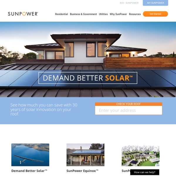 Home Solar Panels, Commercial & Utility-Scale Solar Solutions