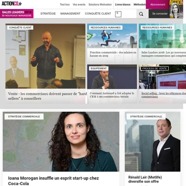 Action commerciale, le site des managers commerciaux - Actionco.fr