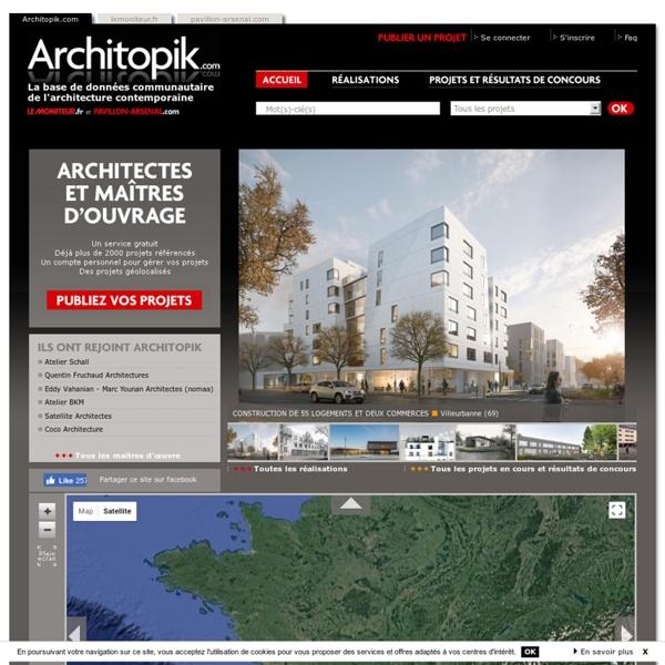 Architopik.com : La base de données communautaire de l'architecture contemporaine