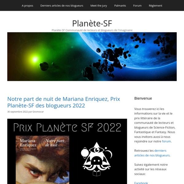 Planète-SF - Communauté de lecteurs et blogueurs de l'Imaginaire