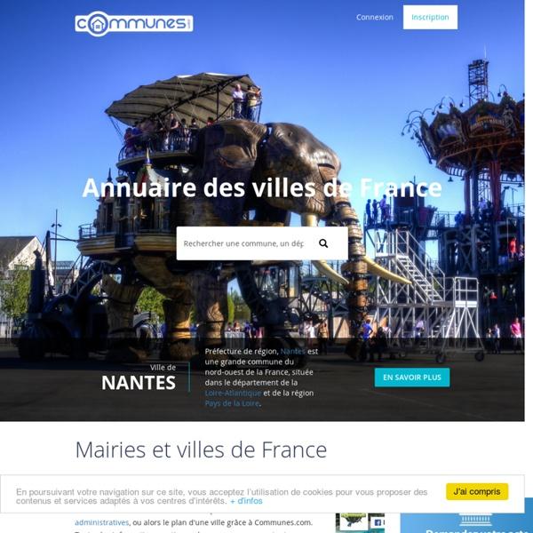 Communes.com : Annuaire touristique des communes de France, villes et hotels en France ( location saisonnière, location vacances )