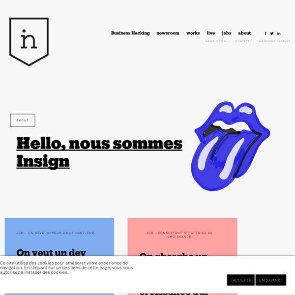 Insign - Communications - Digital - Marketing - Mobility - Branddesign - Social