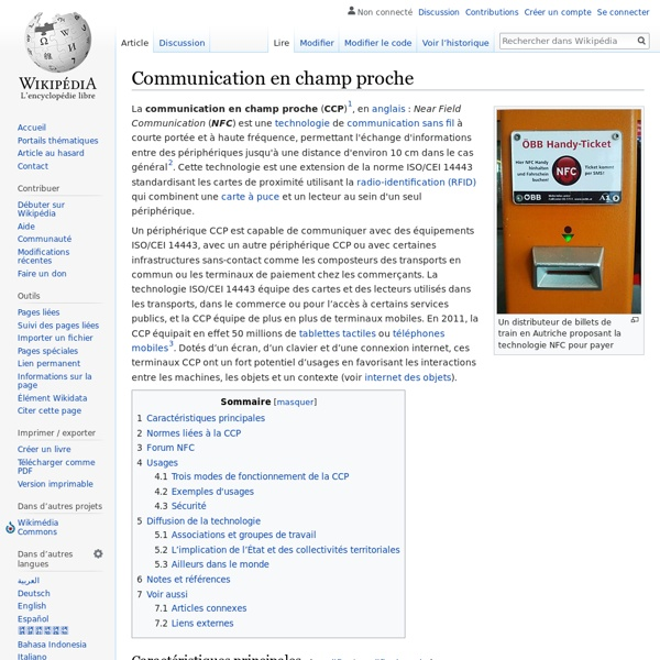 Communication en champ proche