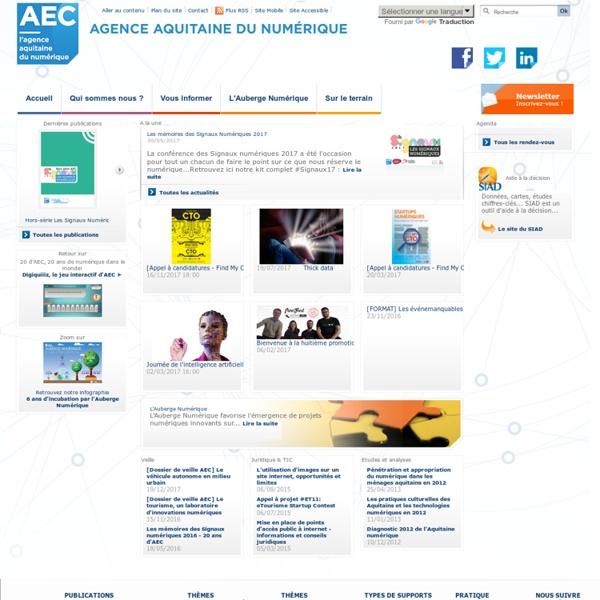 Agence aquitaine du numérique