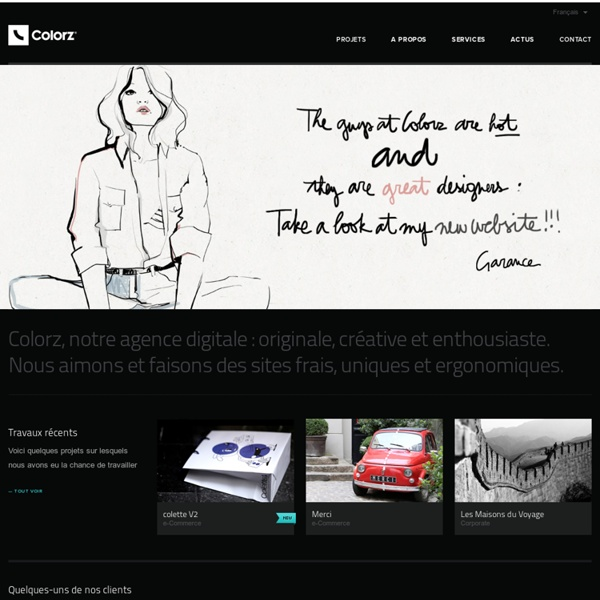 COLORZ . Communication Interactive & Créative