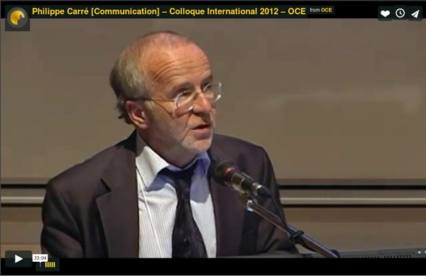 Philippe Carré [Communication] – Colloque International 2012 – OCE
