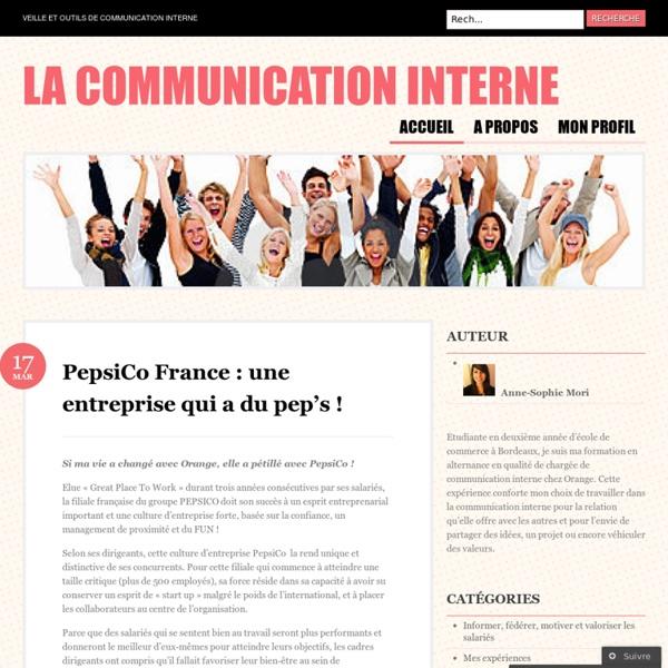 Veille et outils de communication interne