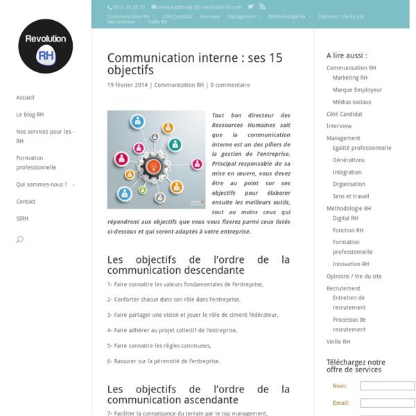 Communication interne : ses 15 objectifs