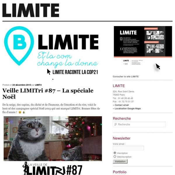 — LIMITE – agence de communication responsable