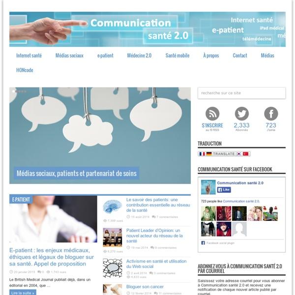 Communication santé 2.0