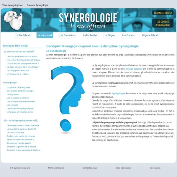 Interpréter la communication non verbale en devenant synergologue