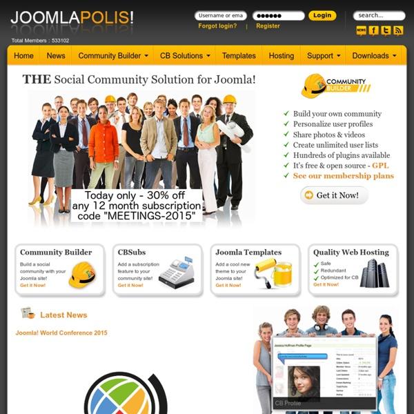Community Builder - Joomla Social Networking
