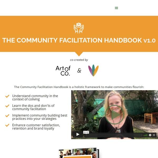 The Community Facilitation Handbook - Conscious Coliving