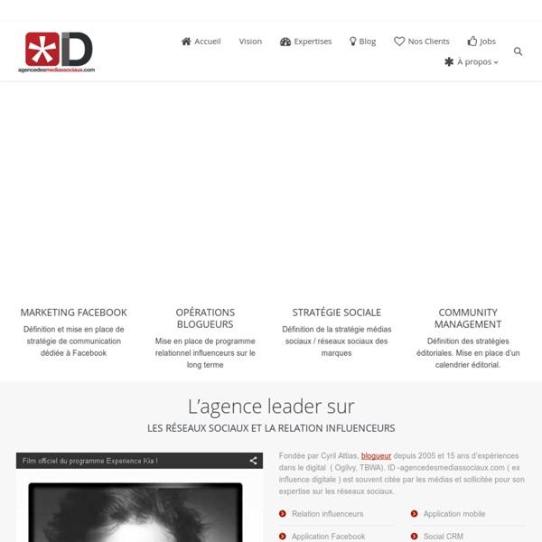 Influence digitale.com / Stratégies & Analyses