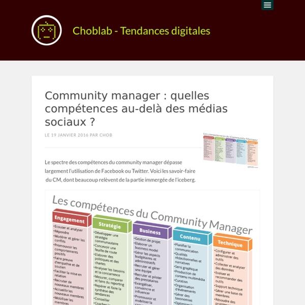 Community manager : quelles compétences au-delà des médias sociaux ?