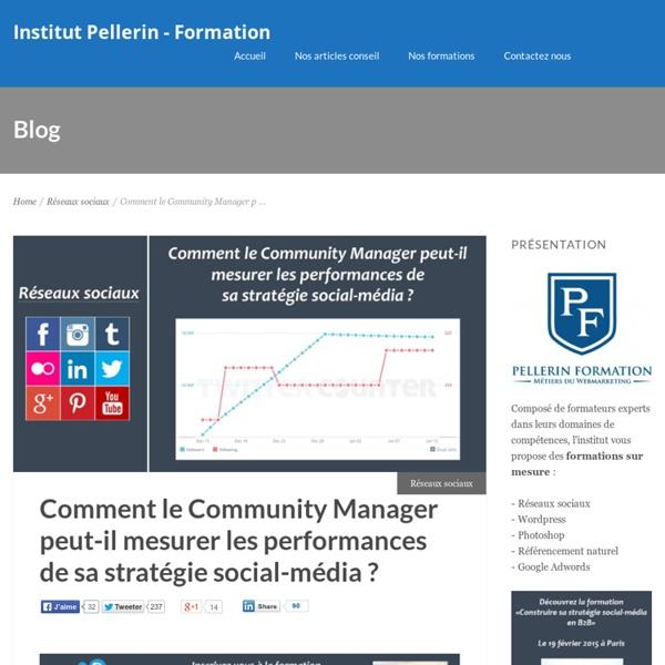 Comment le Community Manager peut-il mesurer les performances de sa stratégie social-média ?