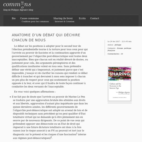 Communs / Commons