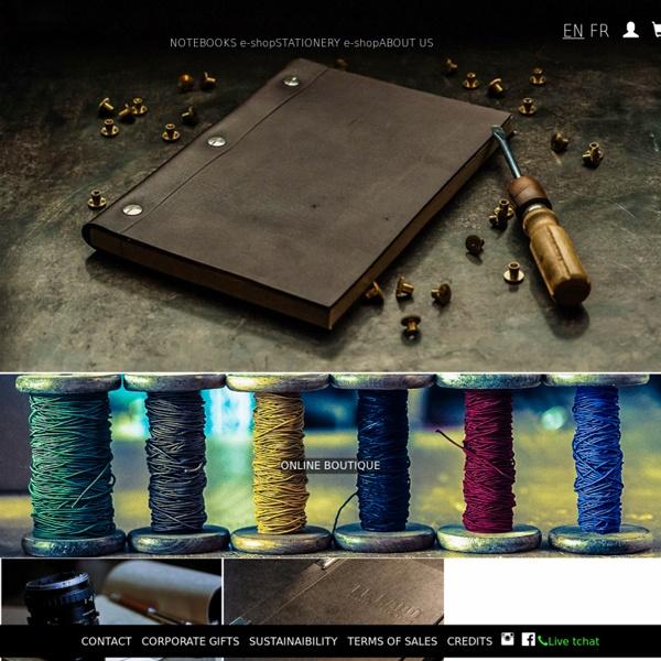 LCK La Compagnie du Kraft - La manufacture de carnets made in France la plus improductive du monde occidental