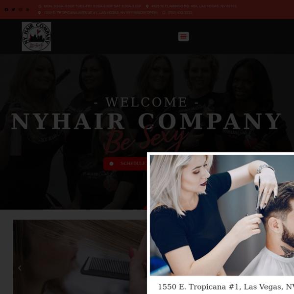Home - NY Hair Company - Las Vegas Salon located 5 mins from the strip