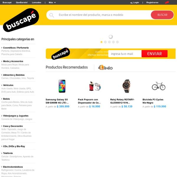 Buscapé - Comparación de Precios, Productos y Servicios