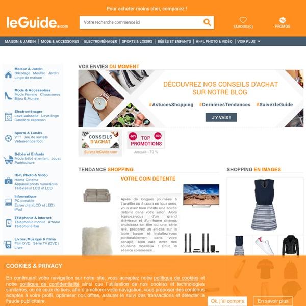 LeGuide.com - Comparateur de prix, promotions, tendances