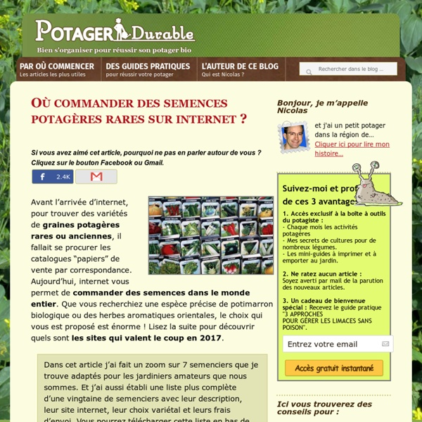 meilleur site jardinage jardinage le guide des meilleurs