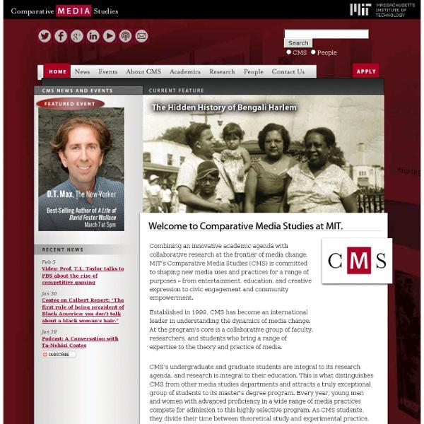 MITcompar ative Media Studies