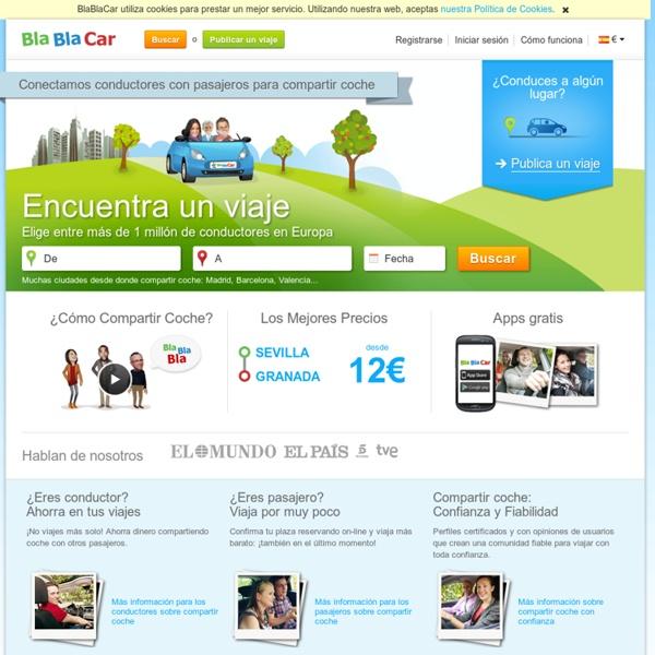 Compartir coche en España con Comuto.es